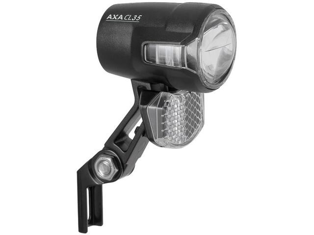 Axa Compactline 35 Steady Auto Lampe frontale Support haut + éclairage automatique